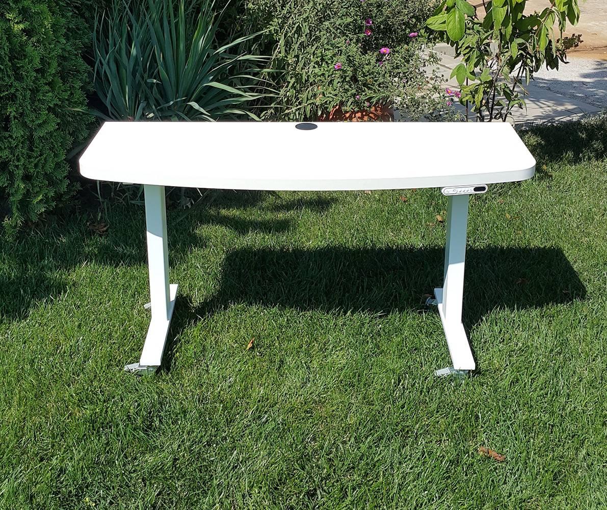 Custom standing desk BulDesk Pro White