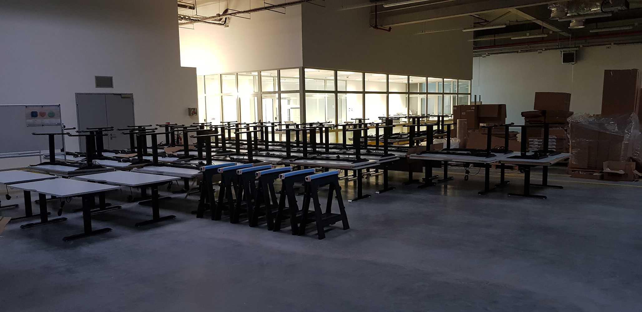 70 height adjustable desks BulDesk Pro