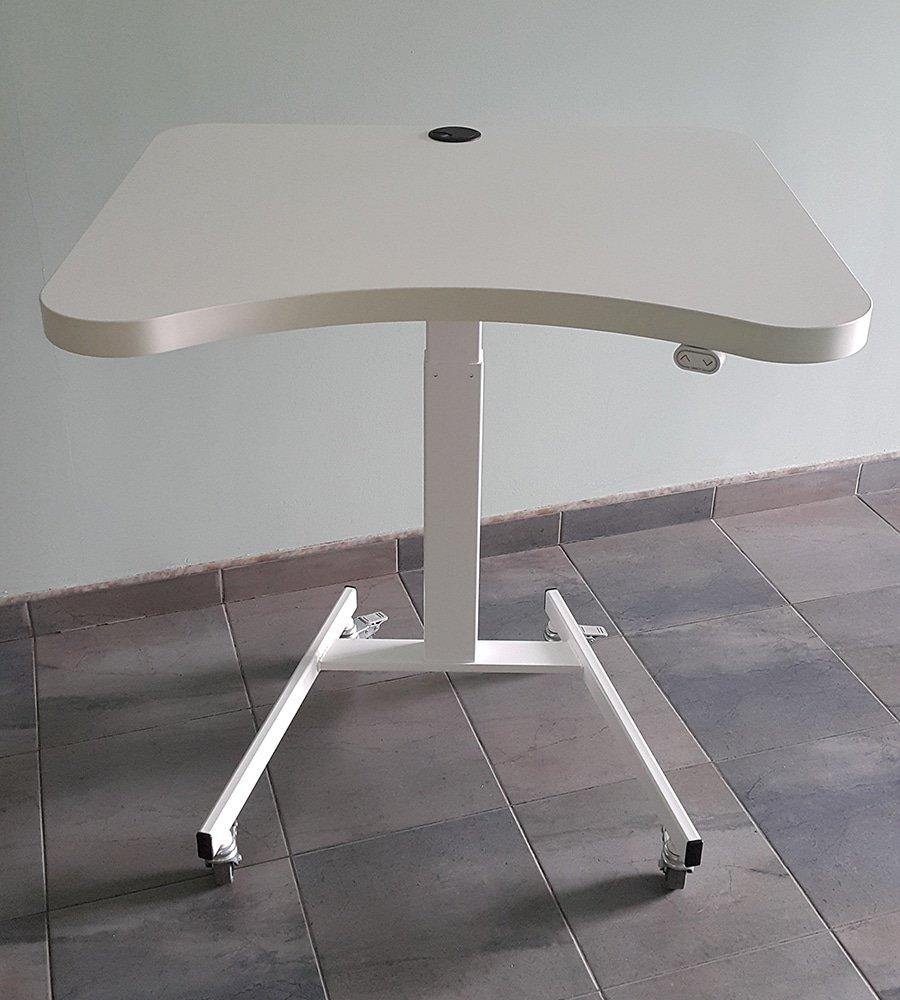 Ергономично бюро BulDesk Pro One бяло