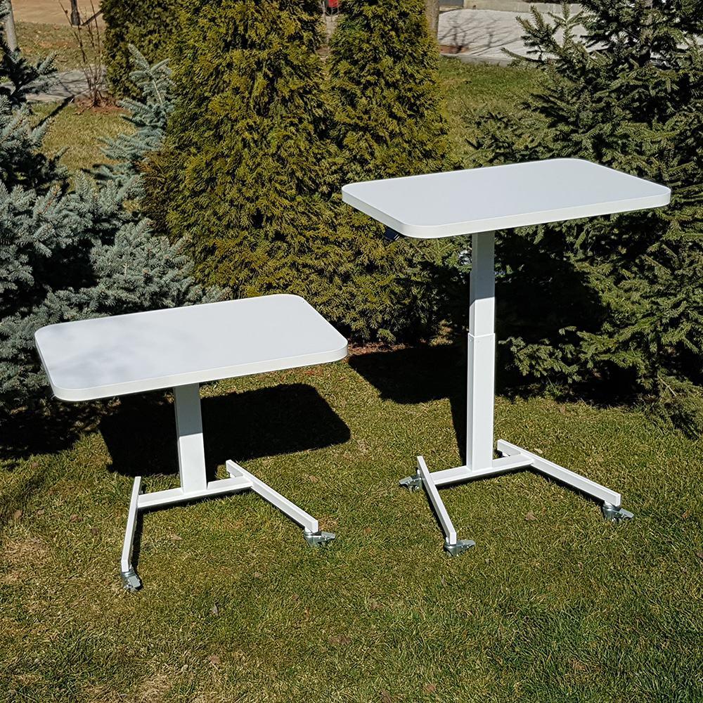 Height ajdjustable desks BulDesk Pro One White