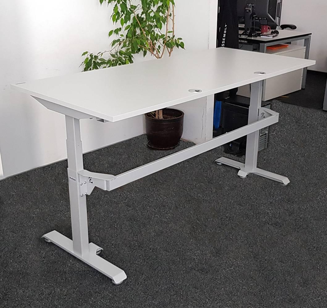 Sit-stand desk BulDesk Pro Plus Grey Base Grey Worktop