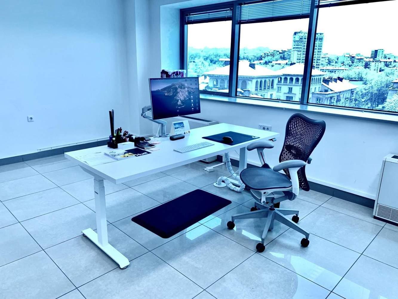 Standing desk BulDesk Pro 2 metre by 80 centimeters White
